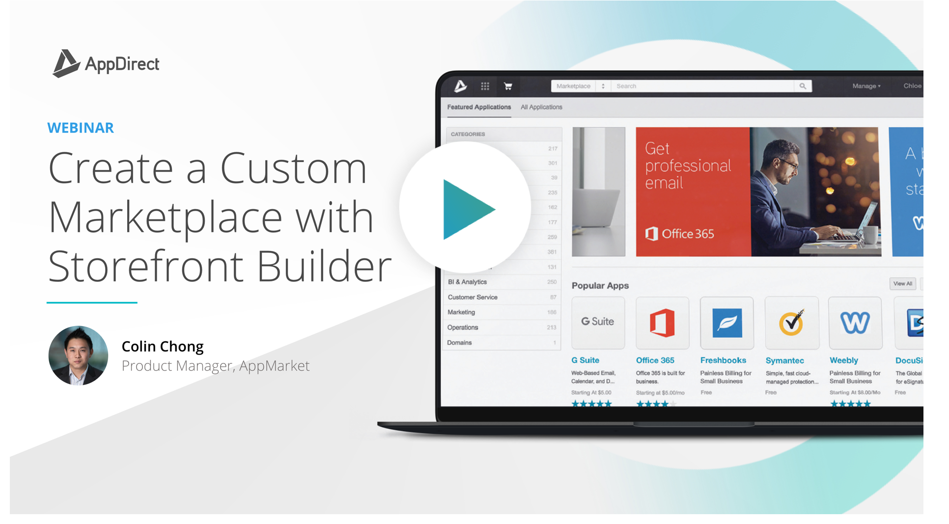 Create a Custom Marketplace with Storefront Builder Webinar