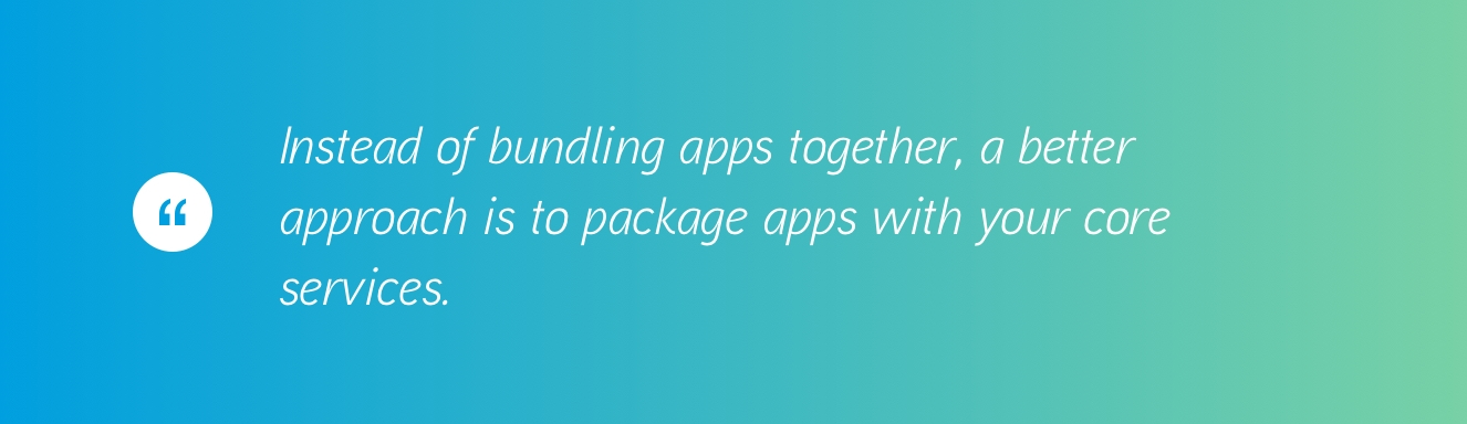 Bundled Apps for B2B SaaS
