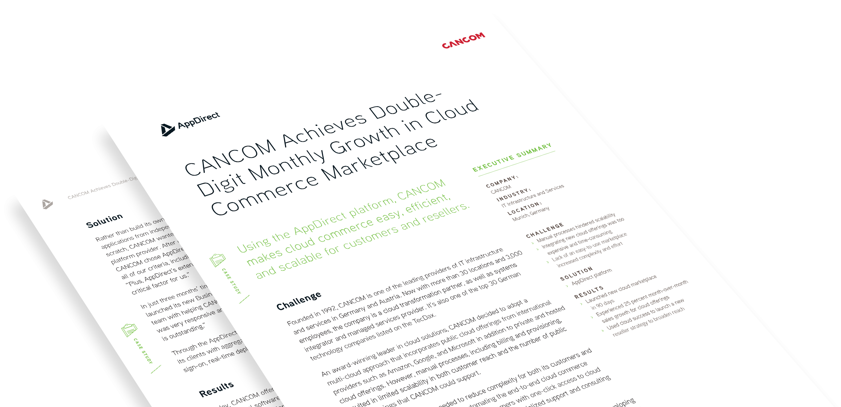 CANCOM Achieves Double-Digit Monthly Growth in Cloud Commerce Marketplace