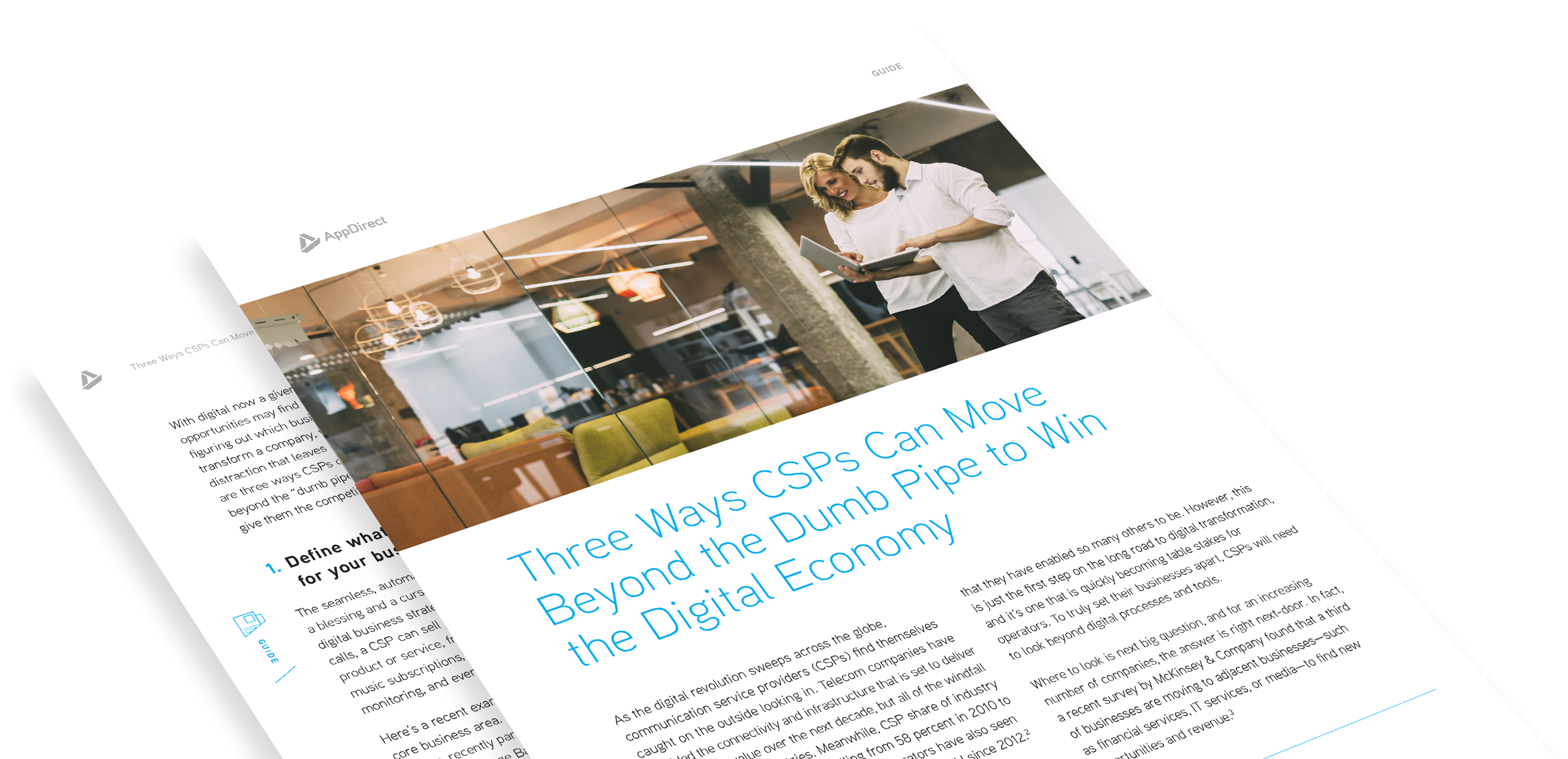 Three Ways CSPs Can Move Beyond the Dumb Pipe to Win the Digital Economy