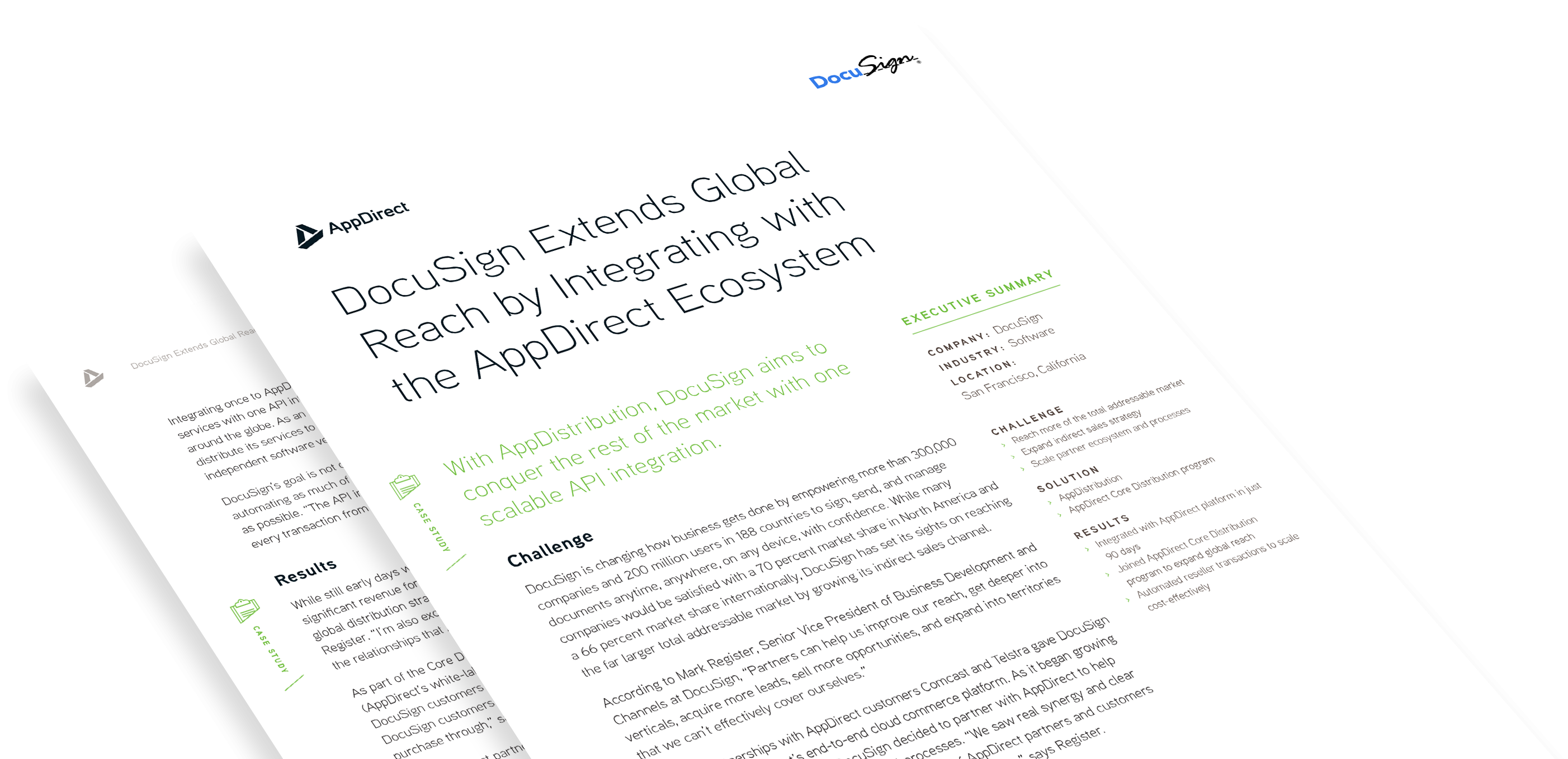 DocuSign Extends Global Reach by Integrating with the AppDirect Ecosystem