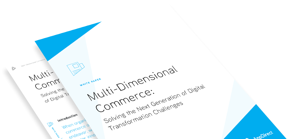 Multi-Dimensional Commerce: Solving the Next Generation of Digital Transformation Challenges