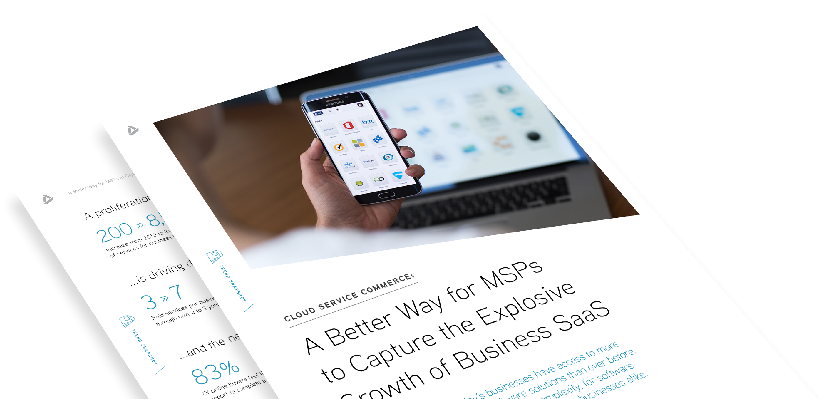 Trend Snapshot: A Better Way for MSPs to Capture the Explosive Growth of Business SaaS