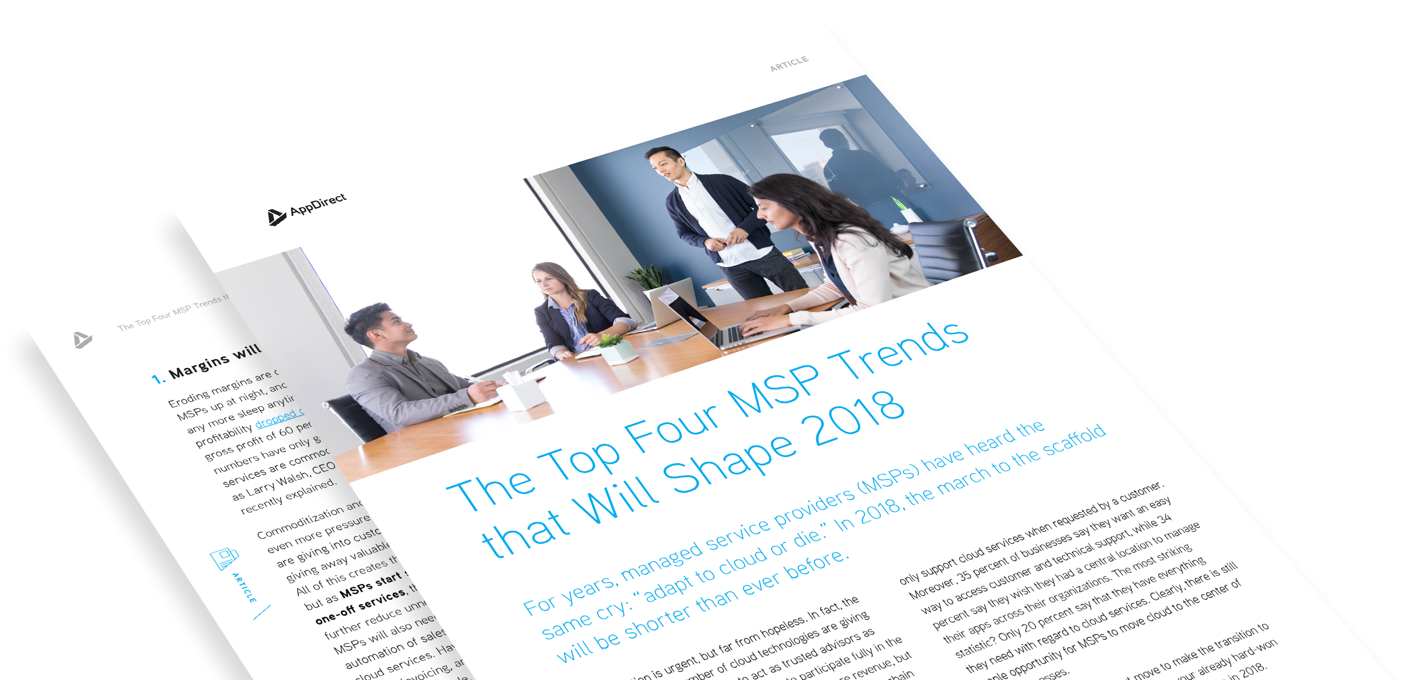 Top 4 MSP Trends Shaping 2018