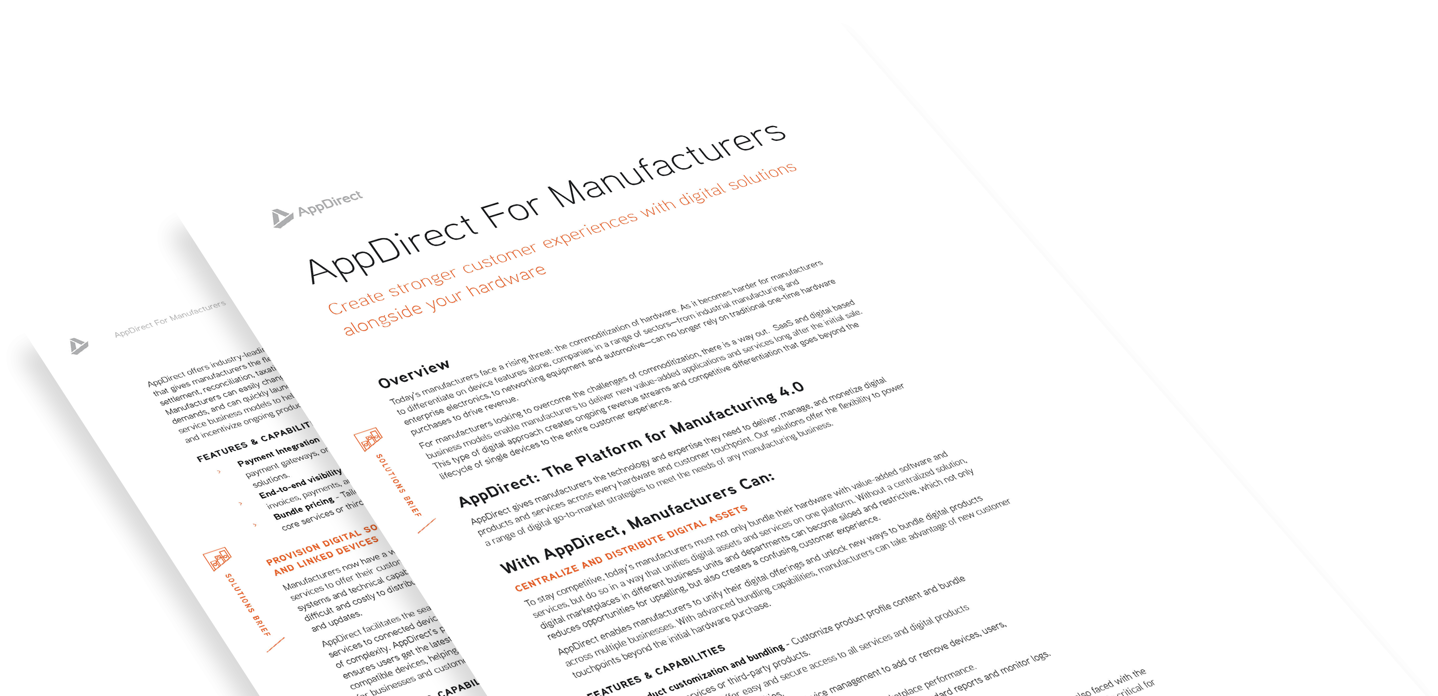 AppDirect for Manufacturers Solutions Brief