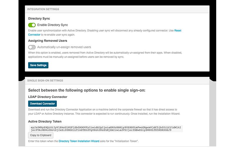 App Identity Directory Sync