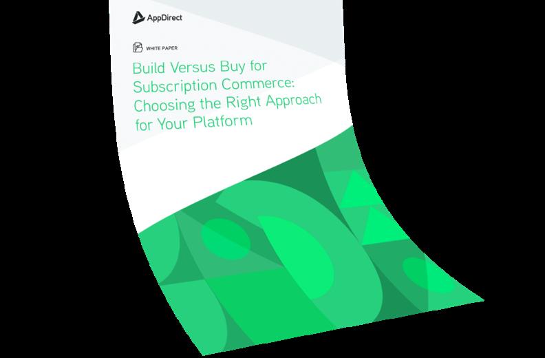 Build Versus Buy for Subscription Commerce White Paper